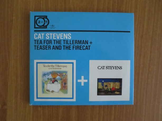 Cat Stevens 2for1 Tea for the Tillerman/Teaser and the Firecat 2xCD