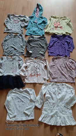 Paka dla dziewczynki Bluza bluzka bluzeczka tunika roz2-3 roz 86/92/98
