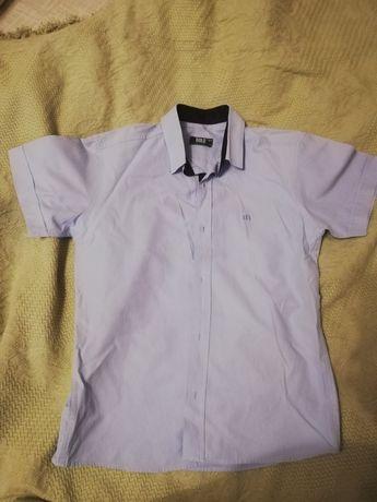 Рубашка в школу на мальчика 10 лет