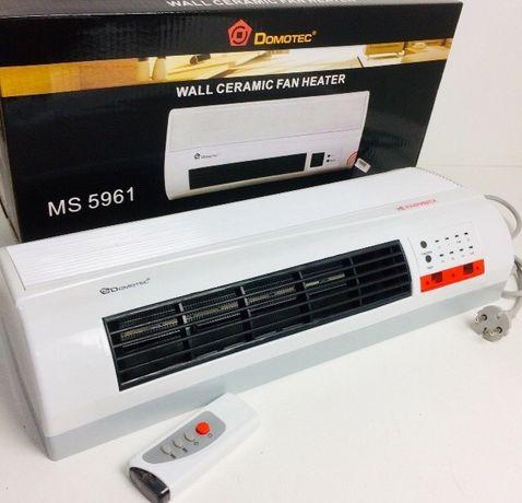 Обогреватель конвектор тепловентилятор настенный керамический завеса