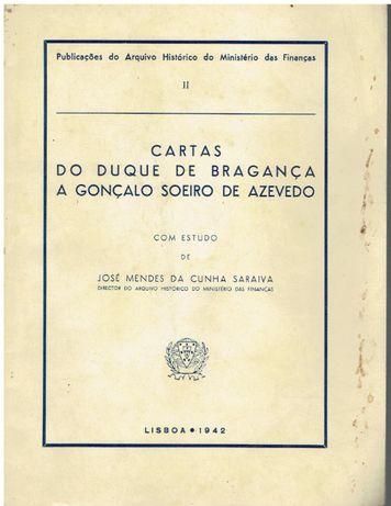 10723 Cartas do Duque de Bragança a Gonçalo Soeiro de Azevedo /