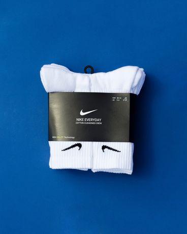 Носки Nike Everyday Cushion Crew Original  білі носки Найк 6