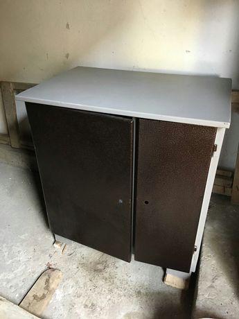 Шкаф сейф в офис металлический стол для инструментов 83/56 см НОВЫЙ