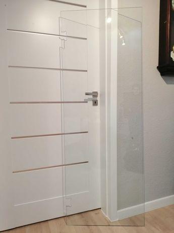 Drzwi prysznicowe szklane, szyba prysznicowa 180/70/8mm