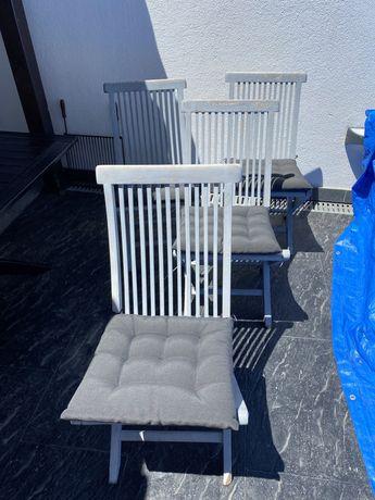 Cadeiras jardim exterior sem almofadas