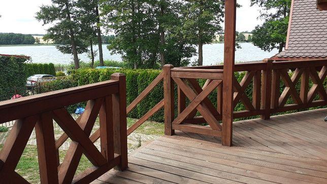 Domek  nad samym jeziorem na Mazurach Wolne terminy 15m od jeziora