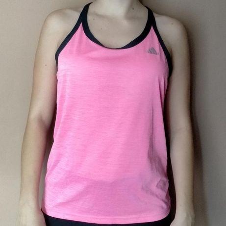 Майка розовая спортивная Adidas