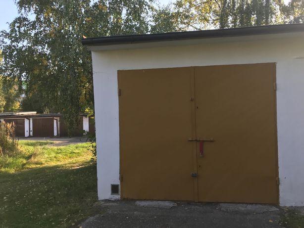 Murowany garaż do wynajęcia z instalacją elektryczną w Jaworznie