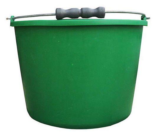 Wiadro Gospodarcze Plastikowe 20l z Rączką Zielone lub Czerwone