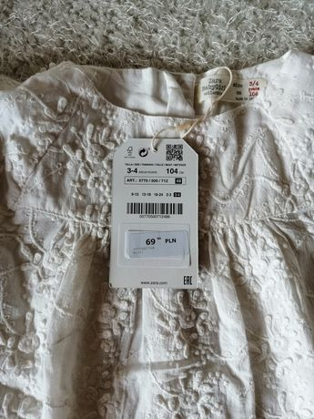 Nowa bluzeczka Zara 104