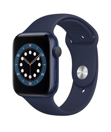 Продам НОВЫЕ Смарт-часы APPLE Watch S6 GPS 44 Blue