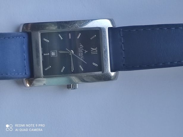 Zegarek Atlantic niebieski