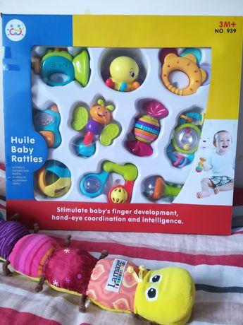 Набор игрушек, фирмы Huile Toys, 10 шт, возраст от 3 месяцев