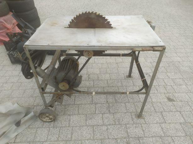 Piła tarczowa stołowa krajzega 4kw na siłę + tarcza