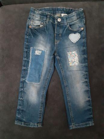 Spodnie jeansowe H&M 86