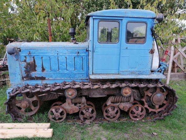 Трактор на металлолом