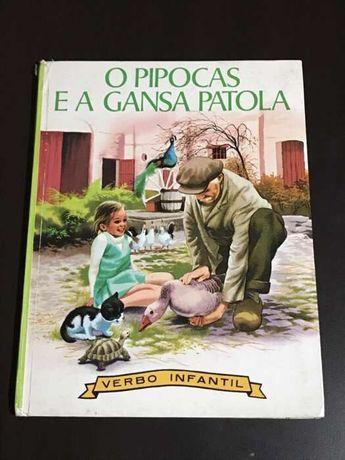 O Pipocas e a gansa Patola (nº 84) de Gilbert Delahaye - Verbo Infanti
