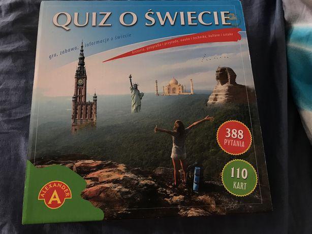 Gra planszowa rodzinna Quiz o Świecie Alexander