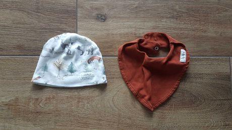Newbie  czapka i szalik r. 40-43