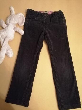Spodnie sztruksowe 116