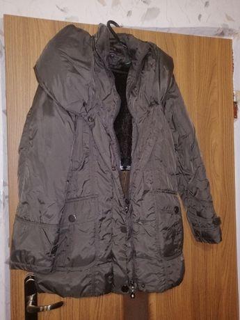 kurtka zimowa z kapturem