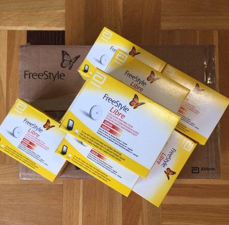 Качественные сенсоры FreeStyle Libre 1 Англия, 1550 грн опт. Датчик