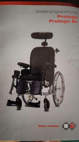 Wózek inwalidzki B+ B cena za 2 sztuki