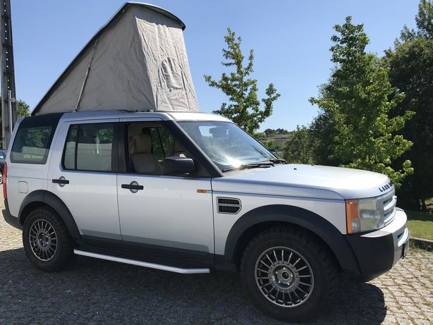 Land rover discovery 3 camper