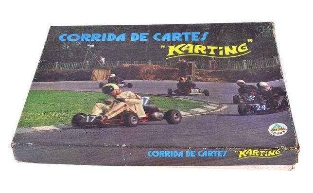 Jogo de Tabuleiro Karting