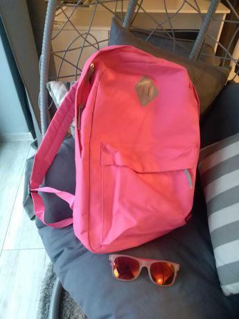 Plecak młodzieżowy, rozowy