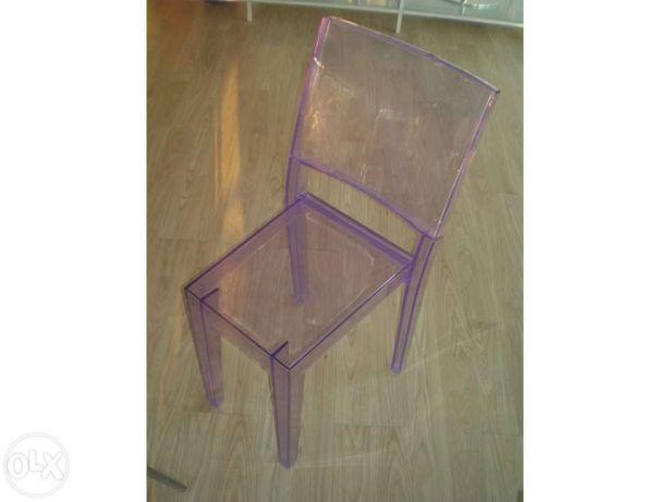 "Cadeira kartell - la marie "" filippe starck"""