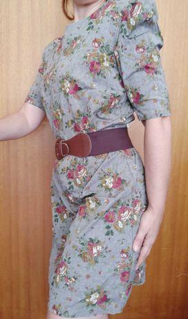Vestido curto Floral NOVO