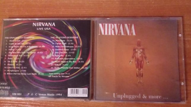 Nirvana ‎– Unplugged & More ... CD 1994 rok