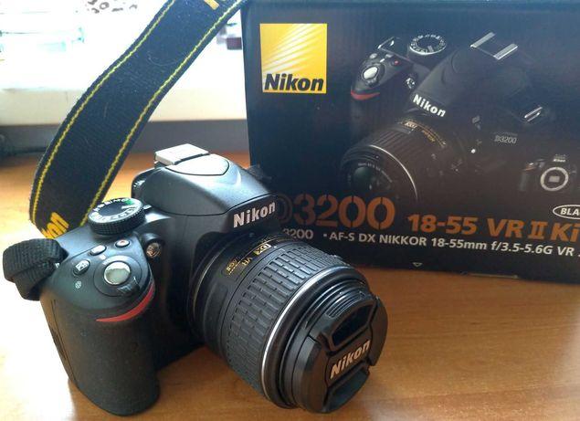Фотоапарат Nikon D3200 18-55mm VR II Kit Black