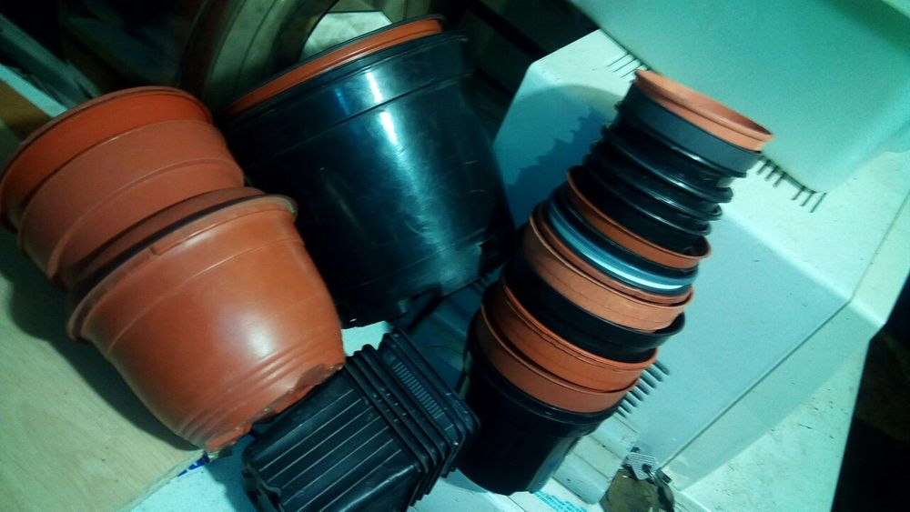 Горшки для растений35штук Запорожье - изображение 1
