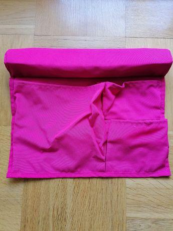 Kieszeń na łóżko, różowy39x30 cm - IKEA