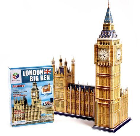 """Огромные 3D пазлы """"Big Ben"""" Трехмерный конструктор-головоломка 63.8см"""