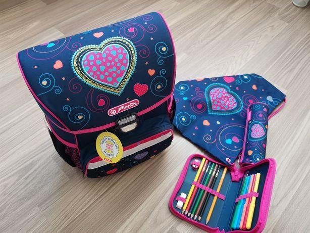 Детский рюкзак Herlitz Loop Plus Heart 4 предмета