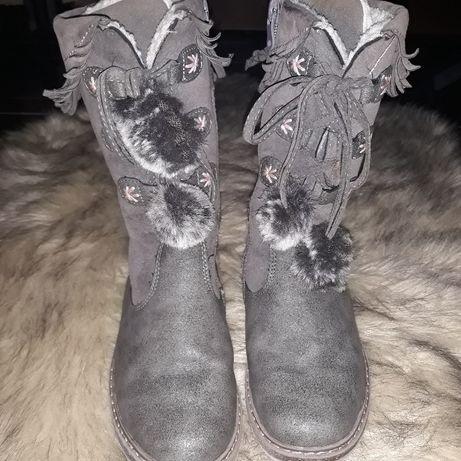 buty kozaki dziewczynka 31