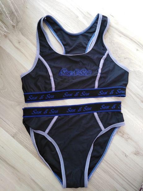 Dwuczęściowy strój kąpielowy damski S