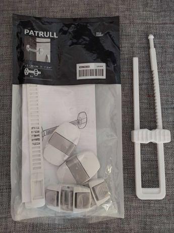 Zabezpieczenia do szafek z Ikei, Patrull