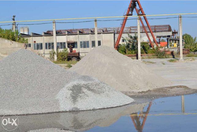 Щебень, песок, отсев