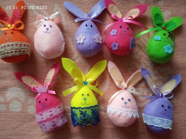 заєць заец зайчик подарок подарунок декор фетр з фетру игрушка іграшка
