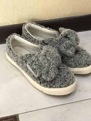 Весняне взуття на дівчинку, мокасини Zara