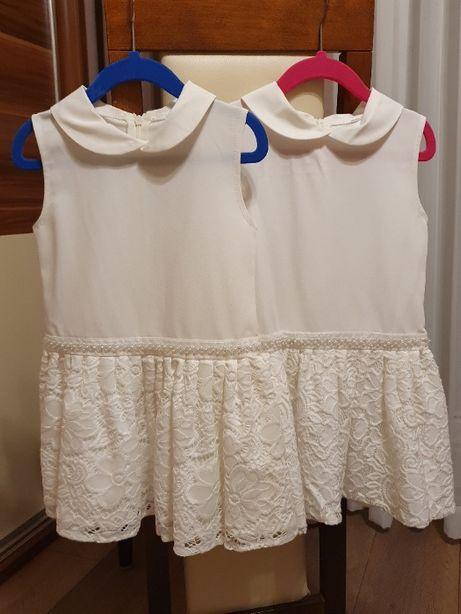 Sukienki wizytowe dla bliźniaczek 104