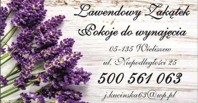 Lawendowy Zakątek-pokoje okolice Szpital Onkologiczny w Wieliszewie