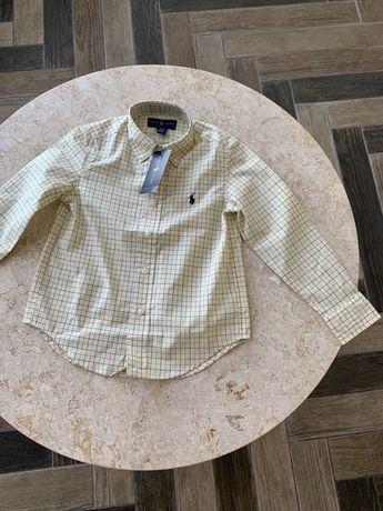 Рубашка Ralph Lauren для мальчиков, рубашка Ральф Лорен Оригинал, sale
