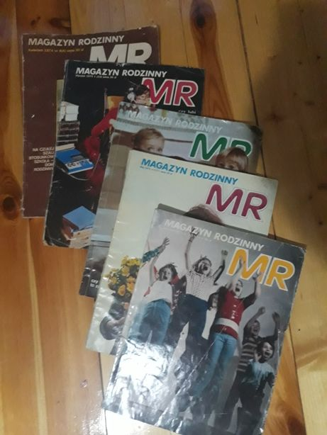 5sztuk Magazyn rodzinny MR