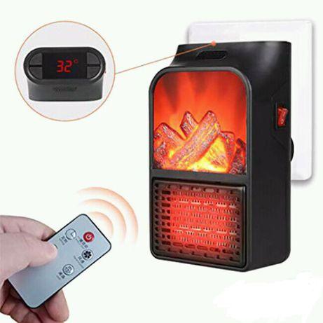 Тепловентилятор Flame Heater 1000 W - дуйка электро обогреватель