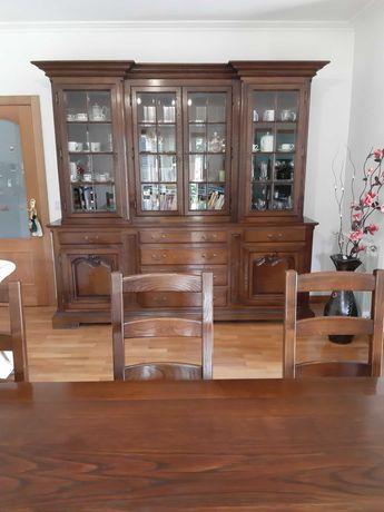 Moveis sala jantar madeira maciça